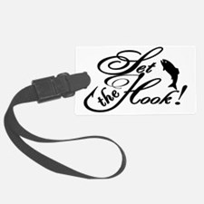 Set the Hook BLK Luggage Tag