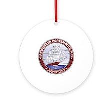 Portsmouth NH CLipper Round Ornament