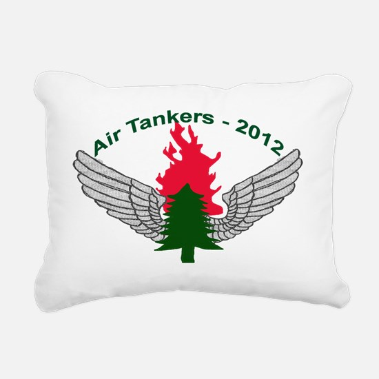 Air Tankers, firefightin Rectangular Canvas Pillow