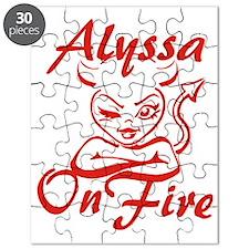 Alyssa On Fire Puzzle