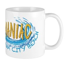 Beach Maniac Panama City Beach Mug
