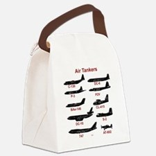 Air Tankers, firefighting Canvas Lunch Bag