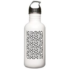 Graphic Pattern Water Bottle