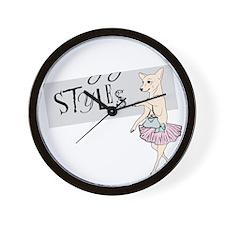 dark shirt logo Wall Clock