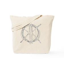Light Initials Tote Bag