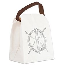 Light Initials Canvas Lunch Bag