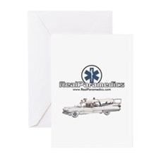 Cadillac Ambulance Greeting Cards (Pk of 10)