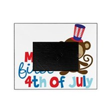 Monkey My First 4th of July Picture Frame