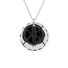 Dark Initials Necklace