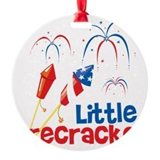 4th of July Little Firecracker Ornament
