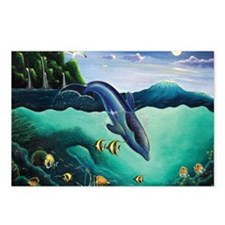 Dolphin Paradise Postcards (Package of 8)