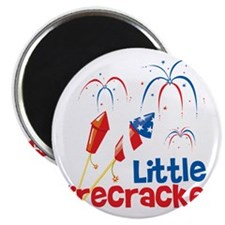 4th of July Little Firecracker Magnet