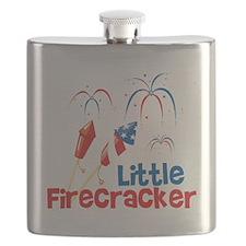 4th of July Little Firecracker Flask