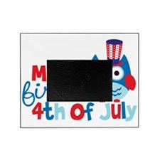 Owl My First 4th of July Picture Frame
