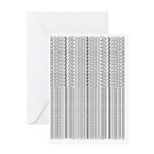 Graphic Pattern Greeting Card