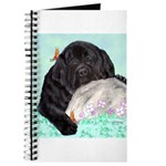 Sleepy Newfoundland Puppy Journal
