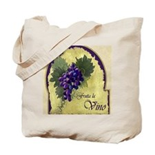 Wine Label Tote Bag