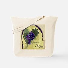 Wine Label Tote Bag