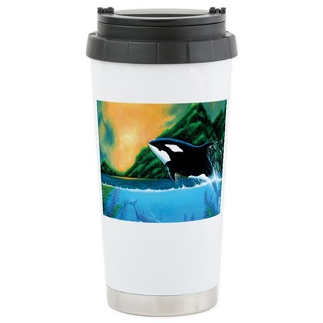 Orca Stainless Steel Travel Mug