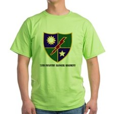75th Infantry (Ranger) Regiment with T-Shirt