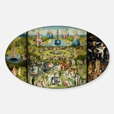Hieronymus Bosch Garden Of Earthly Delight Decal