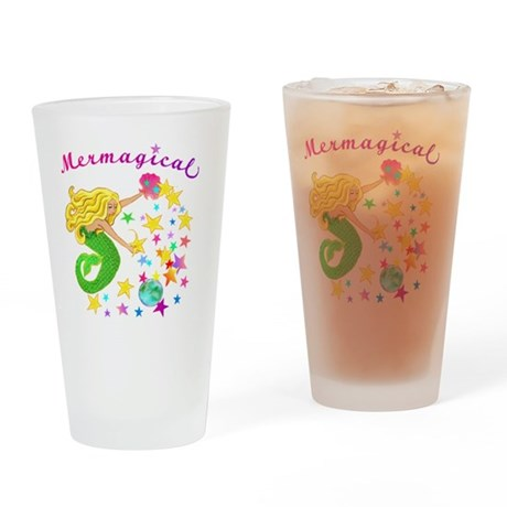 Mermagical2 Drinking Glass