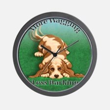 More Wagging Wall Clock