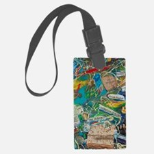 A Story in My Art #3 Luggage Tag