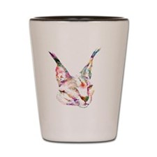 Sparkle Caracal Shot Glass