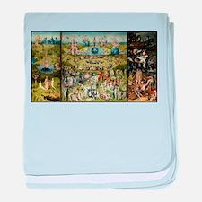 Hieronymus Bosch Garden Of Earthly De baby blanket
