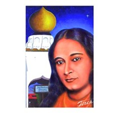 Paramahansa Yogananda Postcards (Package of 8)