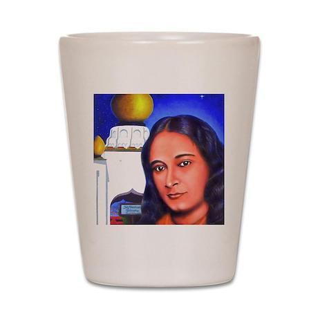 Paramahansa Yogananda Shot Glass