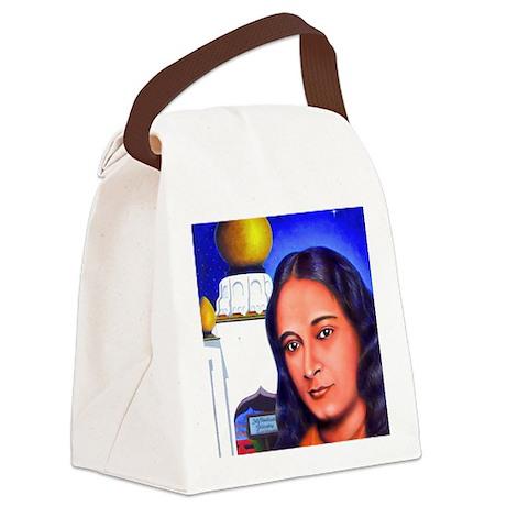 Paramahansa Yogananda Canvas Lunch Bag