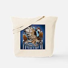 Dream Catcher Hawk Tote Bag