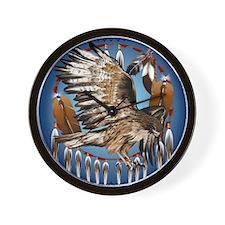 Dream Catcher Hawk Wall Clock