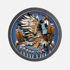 Dream Catcher Hawk Wall Clock