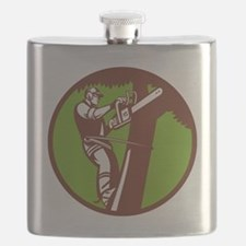 Arborist Tree Surgeon Trimmer Pruner Flask