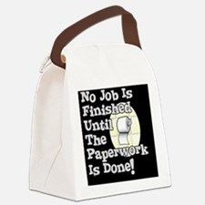 Paperwork Canvas Lunch Bag