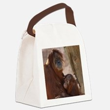 (12) Orang Mother and Child 7374 Canvas Lunch Bag