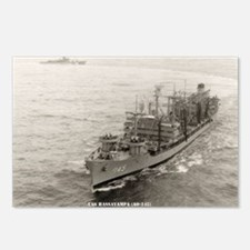uss hassayampa large fram Postcards (Package of 8)