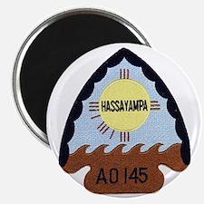 uss hassayampa patch transparent Magnet