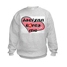 jaelynn loves me Sweatshirt
