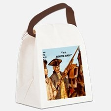 MINUTE MAN Canvas Lunch Bag