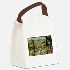 Hieronymus Bosch Garden Of Earthl Canvas Lunch Bag
