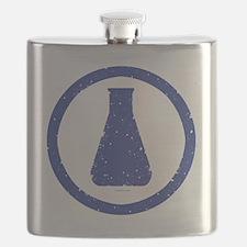 blue erlenmeyer  Flask
