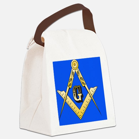Masonic Magnet Canvas Lunch Bag