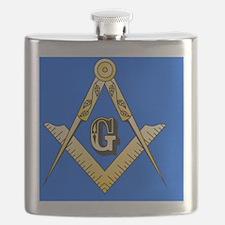 Masonic Magnet Flask
