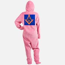 Masonic Magnet Footed Pajamas