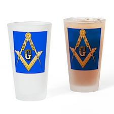 Masonic Magnet Drinking Glass