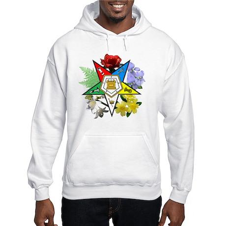 OES Floral Emblem Hooded Sweatshirt